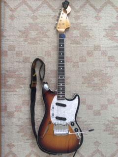 ごえもんさんギターその1