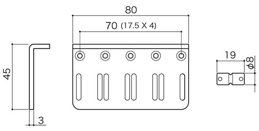 CBB-4寸法図