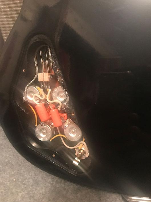 Gibson SG配線交換