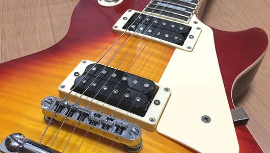 LPタイプのギター