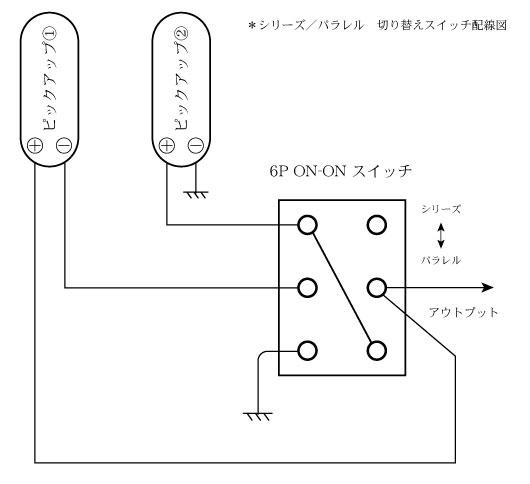 シリーズ/パラレル切替スイッチ