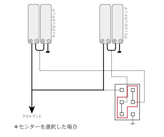 2ハムプライベート配線_センター側選択