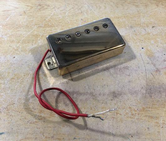 1芯仕様のハムバッカー