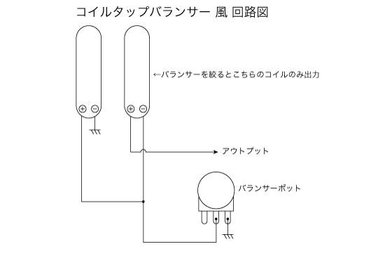 コイルタップバランサー回路